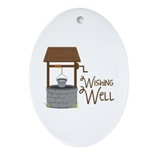 Wishing Well Ornament (Oval)