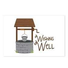 Wishing Well Postcards (Package of 8)