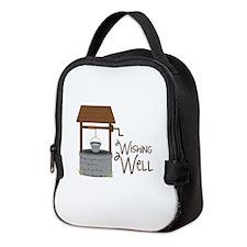 Wishing Well Neoprene Lunch Bag