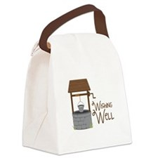 Wishing Well Canvas Lunch Bag