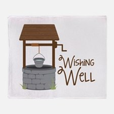 Wishing Well Throw Blanket