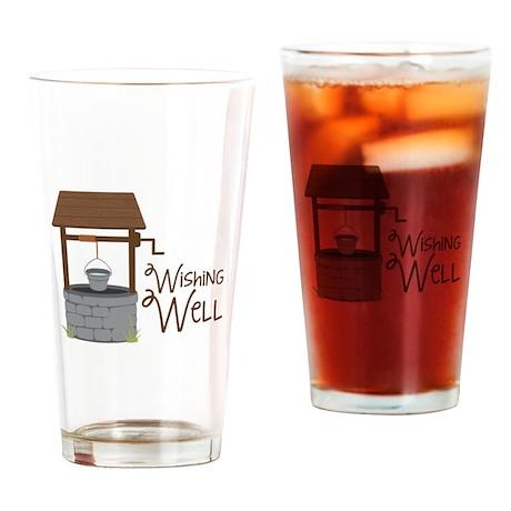 Wishing Well Drinking Glass