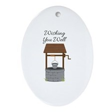 Wishing you Well Ornament (Oval)