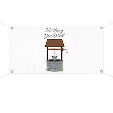 Wishing you Well Banner