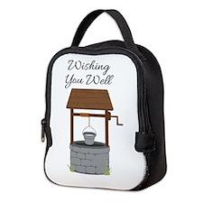 Wishing you Well Neoprene Lunch Bag