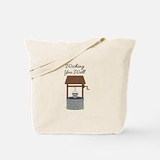 Wishing you Well Tote Bag