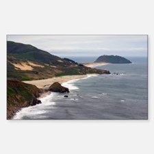 point sur seascape Sticker (Rectangle)