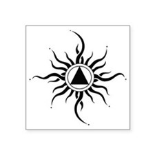 "SUNLIGHT OF THE SPIRIT Square Sticker 3"" x 3"""