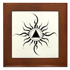 SUNLIGHT OF THE SPIRIT Framed Tile