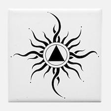 SUNLIGHT OF THE SPIRIT Tile Coaster