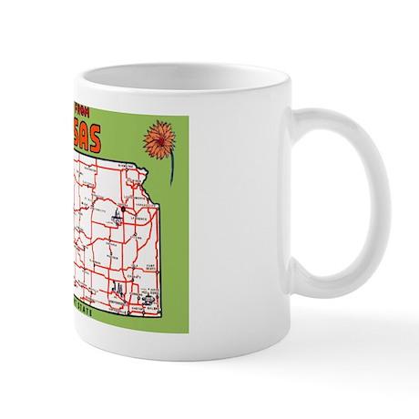 Kansas Greetings Mug