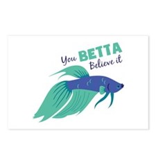You Betta Believe It Postcards (Package of 8)