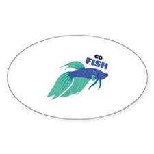 Go Fish Decal