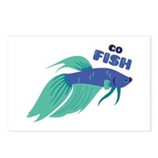 Go Fish Postcards (Package of 8)