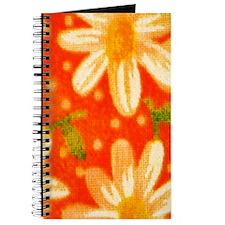 Orange Daisies Journal