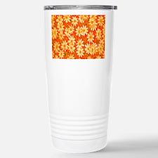 Orange Daisies Travel Mug