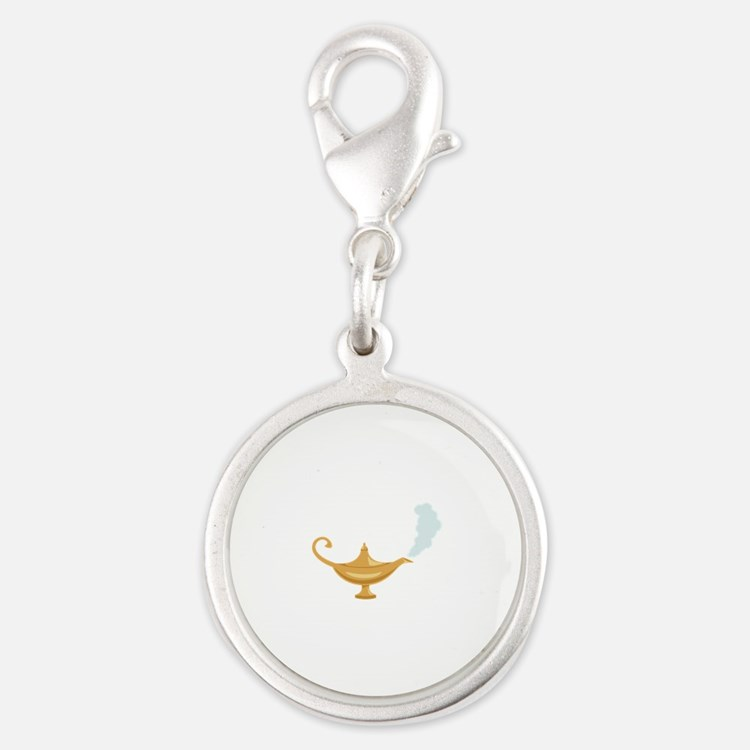 Genie Lamp Bottle Charms