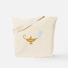 Genie Lamp Bottle Tote Bag
