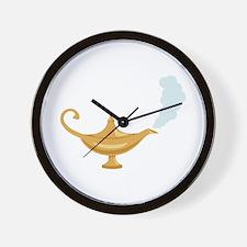 Genie Lamp Bottle Wall Clock