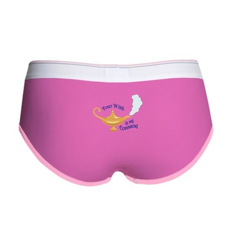 Your wish is my command Women's Boy Brief