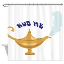 RUB ME Shower Curtain
