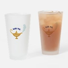 RUB ME Drinking Glass