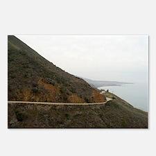 big sur highway Postcards (Package of 8)