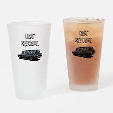 LAST RESPONSE Drinking Glass