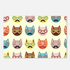 Hipster Cats Postcards (Package of 8)