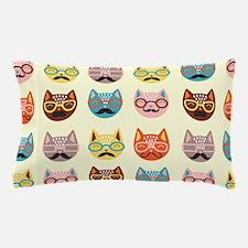 Hipster Cats Pillow Case