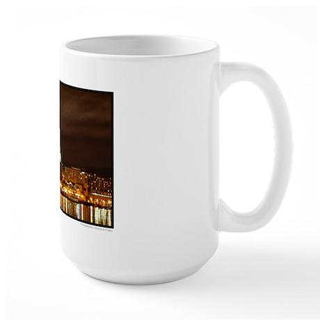 Savannah, Georgia: River Stre Large Mug