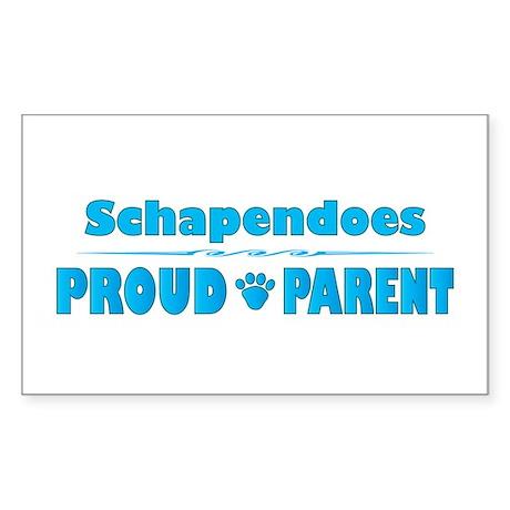 Schapendoes Parent Rectangle Sticker