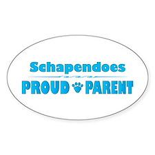 Schapendoes Parent Oval Decal