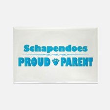 Schapendoes Parent Rectangle Magnet (100 pack)