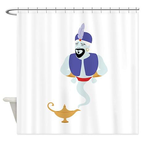 Genie Lamp Bottle Shower Curtain