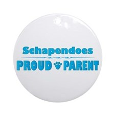 Schapendoes Parent Ornament (Round)