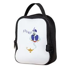 AS YOU WISH Neoprene Lunch Bag