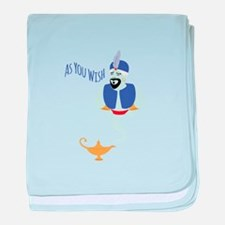 AS YOU WISH baby blanket