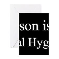 Son - Dental Hygienist Greeting Cards
