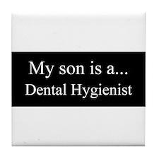 Son - Dental Hygienist Tile Coaster