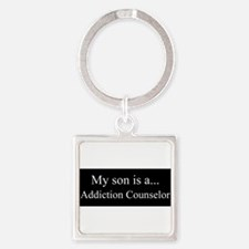 Son - Addiction Counselor Keychains