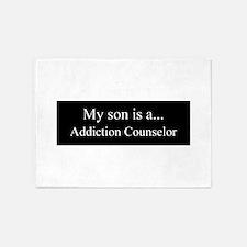 Son - Addiction Counselor 5'x7'Area Rug