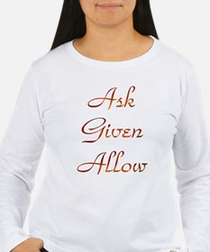 Ask Given Align #7 T-Shirt