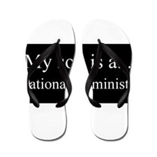 Son - Educational Administrator Flip Flops