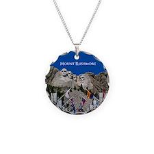 Mount Rushmore Customizable Necklace