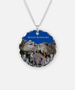 Mount Rushmore Customizable Necklace