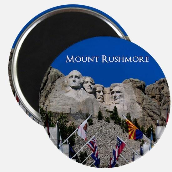 Mount Rushmore Customizable Souvenir Magnet