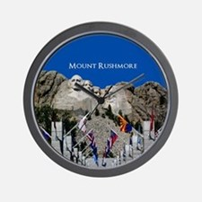 Mount Rushmore Customizable Souvenir Wall Clock
