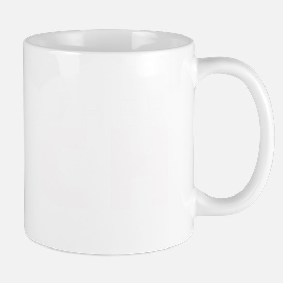 Black Leather Couch (white) Mug