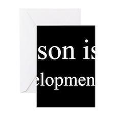 Son - Child Development Specialist Greeting Cards